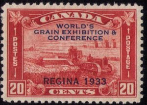 CANADA Sc #203 MH  WORLD'S GRAIN EXPO VERY FINE
