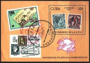 Cuba. 1984. blbl83. Iarki stamps. USED.