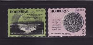 Honduras C336-C337 U Sports, Olympics (E)