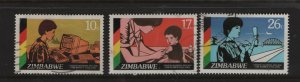 Zimbabwe 519-521 (3) Set, Used, 1985 UN Decade for Women