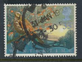 Great Britain SG 1590    Used  - Four Season Winter