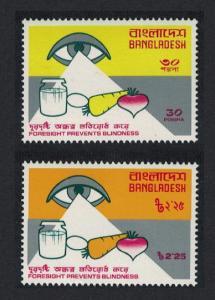 Bangladesh Prevention of Blindness 2v SG#78-79