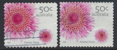 Australia  SC# 2400 & 2404 Used Swamp Daisy please see details