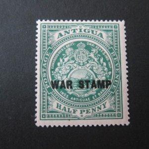 Antigua 1916 Sc MR1 MH