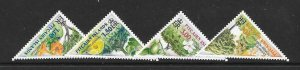 PITCAIRN ISLANDS SG632/5 2002 TREES MNH