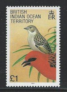 British Indian Ocean Territory mnh sc 105
