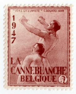 (I.B) Belgium Cinderella : White Stick Blind Charity (1947)