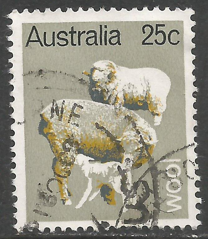 AUSTRALIA 465 VFU SHEEPS Z2714-1