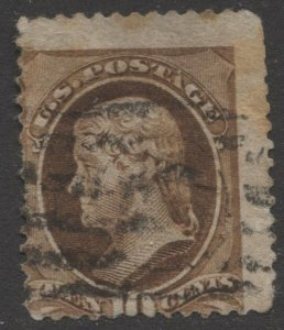 STAMP STATION PERTH US #187 Without Secret Mark Used