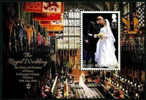 HERRICKSTAMP NEW ISSUES VIRGIN ISLANDS Royal Wedding Prince Harry S/S