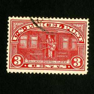 US Stamps # Q3 Superb Used