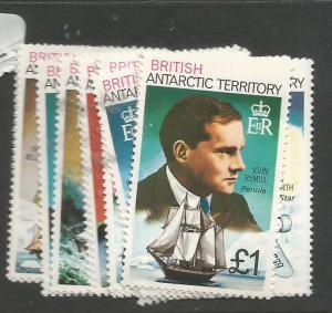 British Antarctic Territory SC 45-59a MNH (6chy)