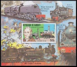 1981 Djibouti 301/B37 Locomotives 8,00 €