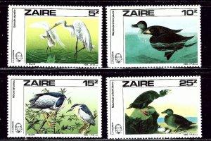 Zaire 1195-97 MNH 1985 Birds    (ap3045)