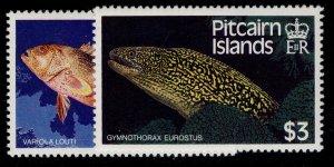 PITCAIRN ISLANDS QEII SG312-313, complete set, NH MINT.