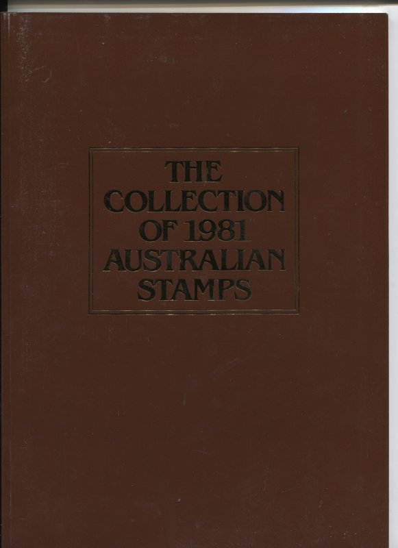STAMP STATION PERTH Australia #1981 Annual Collection MNH with all Stamps