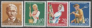 GERMANY B362-65 MNH S422