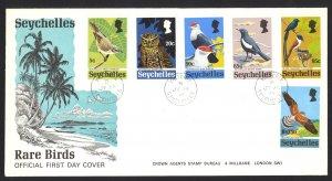 Seychelles Sc# 299-304 FDC 1972 Birds