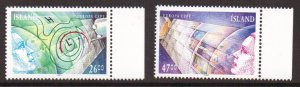 Iceland   #738-739   MNH  1991  Europa