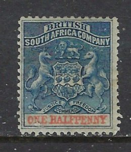 Rhodesia 3 MHH 1891 issue (ap7640)