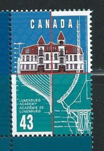 Canada 1558 1995 Lunenburg single MNH