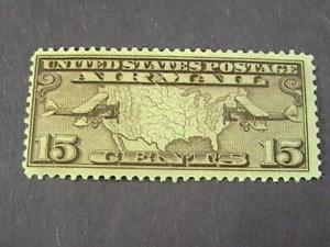 U.S. # C8--MINT NEVER/HINGED---- AIR-MAIL----OLIVE-BROWN-----1926