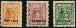 India - indore SC# O6, O1-2 (SG# S1-3) Maharaja Rao III, MH