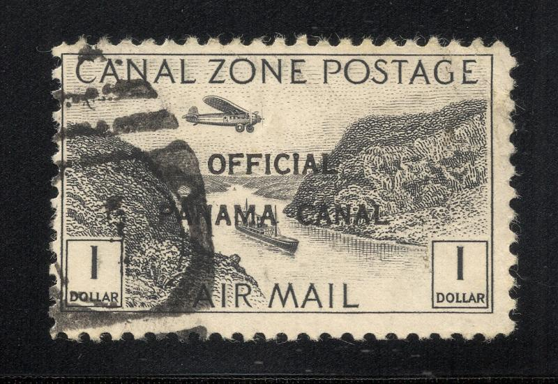 CZ#CO7 Air Post Official - Without Overprint, Postally Used