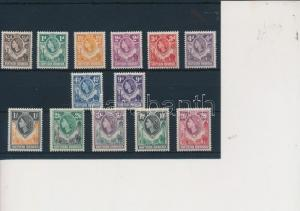 North Rhodesia stamp Definitive set without one value Hinged 1953 WS231447