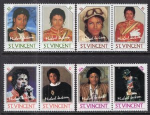 St Vincent 894-897 Michael Jackson MNH VF