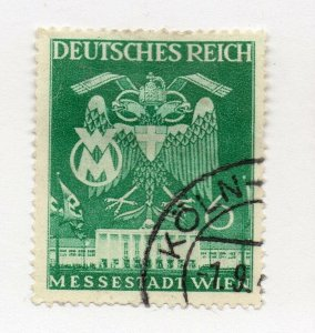 Germany 1943 Early Issue Fine Used 6pf. NW-100729