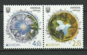 Ukraine 2011 Europa postfrisch