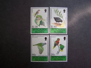 Pitcairn Islands 1990 MNH Birds 4 v set Mi# 367-70