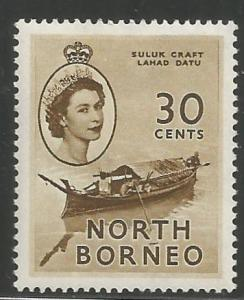 NORTH BORNEO, 270, H, SULUK CRAFT