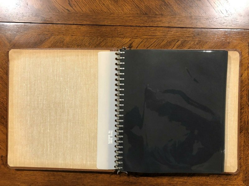 2 - Vintage USPS American Commemorative Collections 23 Ring Binders w/16 Pages