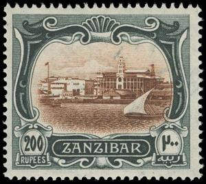 Zanzibar Scott 119 Gibbons 245 Mint Stamp