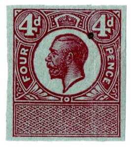 (I.B) George V Revenue : Unappropriated Die Proof 4d