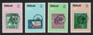 Kiribati Death Centenary of Sir Rowland Hill 4v SG#100-103 SC#341-344