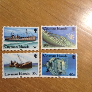 Cayman Islands  # 539-42  MNH