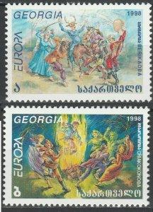 1998 Georgia 297-297 Europa Cept 4,00 €
