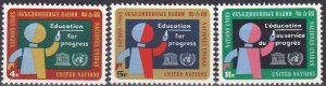 United Nations #134-6 MNH  (S10499)