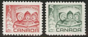 CANADA Scott 476-477 MNH** 1967 Christmas stamp set