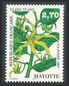 Mayotte Ylang-ylang 'Cananga odorata' Tree 1997 MNH SG#50