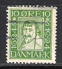 DENMARK 165 VFU J1033 B