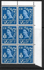 Sg XN6a 4d Northern Ireland Variety - dot on leaf UNMOUNTED MINT