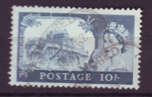 J18509 JLstamps 1959 great britian used #373 10sh