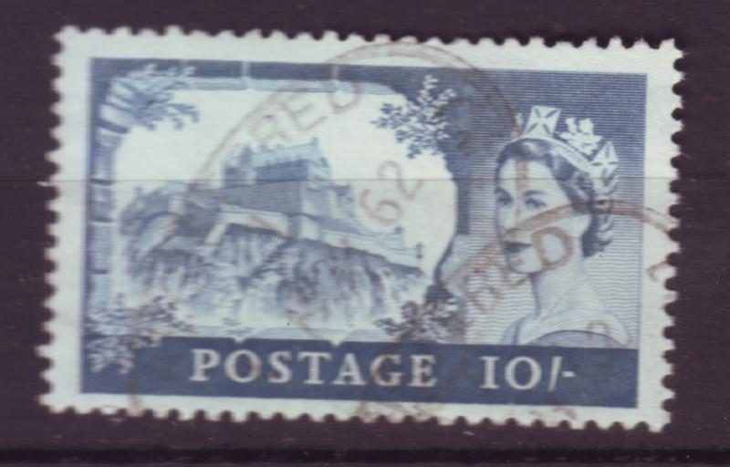 J18509 JLstamps [low price sale] 1959 great britian used #373 10sh