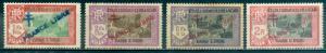French India #168, 170, 171, 173  Mint  CV $17.75  #168 Thin