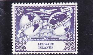 Leeward Islands  Scott#  127  MH