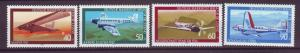 J20756 Jlstamps 1979 berlin germany set mnh #9nb153-6 airplanes